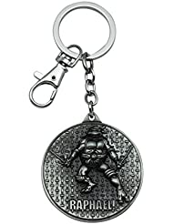 Quoface Silver Metal Key Chain KC21RAPHs