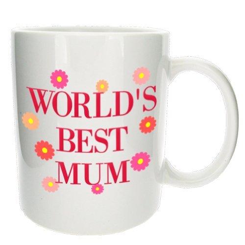 World'S Best Mum' Office Tea Coffee Gift Mug - Mugsnkisses Collection