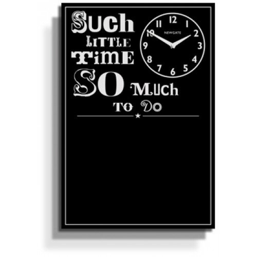 ニューゲート社NEW GATEクロック アンティーク調黒板付きクロック CHALKTODO34 So Much To Do Chalkboard