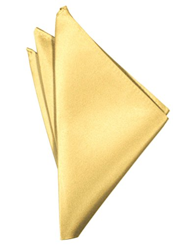 Carary Yellow Pocket Square Hanky Solid Colors Sized for Boys & Men By Tuxedo Park