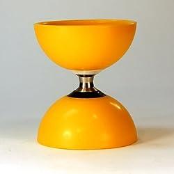 Zeekio Trinity Diabolo Triple Bearing Axle With Soft, Durable Cups Yellow
