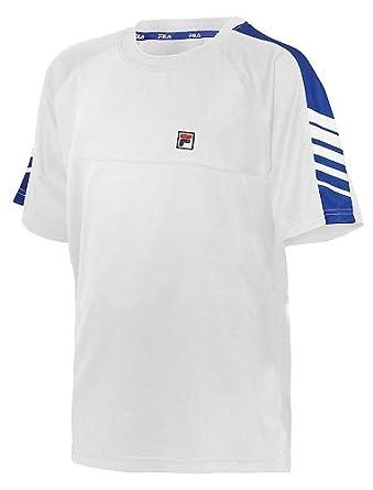 Buy Fila Boy's Court Sleeve Print Poly Crew Neck T-Shirt by Fila