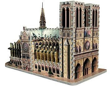 Picture of Hasbro 3D Notre-Dame Cathedral Puzzle 366pc (B00083HJ8U) (3D Puzzles)