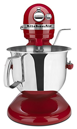 KitchenAid Certified Refurbished RKSM6573ER 6-Qt. Professional Bowl-Lift Stand Mixer - Empire Red (Refurbished Small Appliances compare prices)