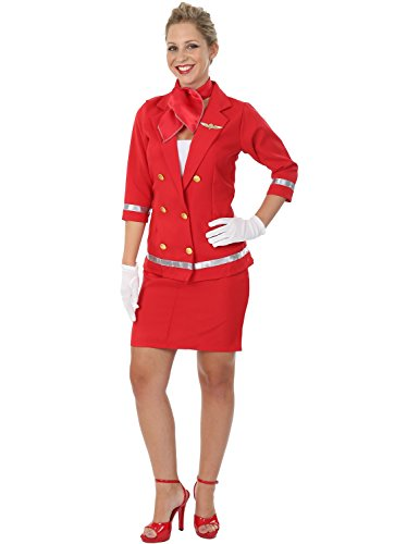ladies-sizzling-red-air-hostess-virgin-dolly-cabin-fancy-dress-costume-small