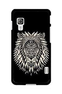 Caseque Adorn Lion Back Shell Case Cover for LG L52