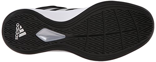 Adidas Performance Men's Isolation 2 Basketball Shoe,Black/Silver/White,12 M US