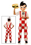 Big Boy Deluxe Costume w/Plastic Mask Standard