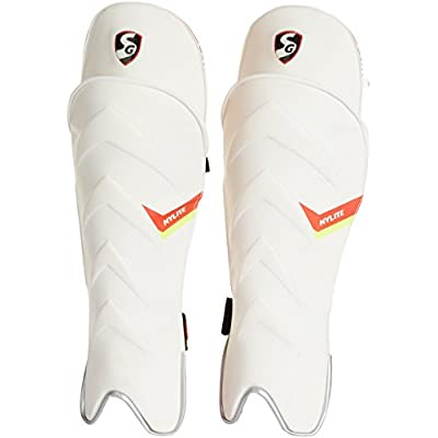 SG Nylite Wicket Keeping Legguards, Men's