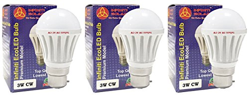 Eco B22 3W LED Bulb (Cool White)