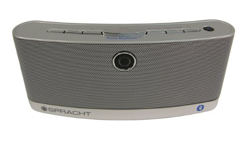 Spracht WS-4010 Aura BluNote Portable Wireless Speaker System with Bluetooth--Stream Music Wirelessly from Any Bluetooth Device