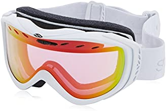 Smith Cadence with Red Sensor SP AF Lens Goggles - White Fridays, One Size