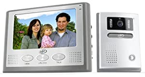 SVAT VIS300-7M2 Hands Free 2-Wire Color Video Intercom System with 7