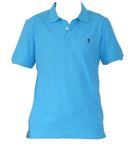 New Mens Turquoise Polo Shirt. Size L. 40