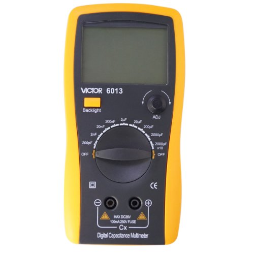 Vc6013 Lcd 3 1/2 Digital Multimeter Lcr Capacitor Capacitance Meter Up To 20Mf