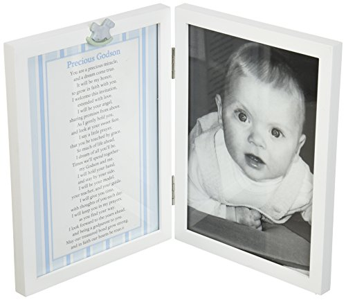 The Grandparent Gift Co. Sweet Something Frame, Precious Godson