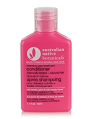 Australian Native Botanicals Hair Care Travel Intensive Care Conditioner for Chemically Treated + Coloured Hair 50ml