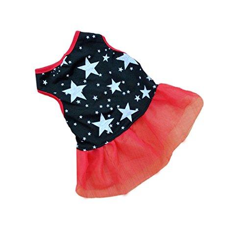 New! Lovely Cute pet dog clothes Puppy Dog Princess Dress Puppy Tutu Princess Dress Party Skirt Costume Apparel Quality first (Daisy Duke Fancy Dress)