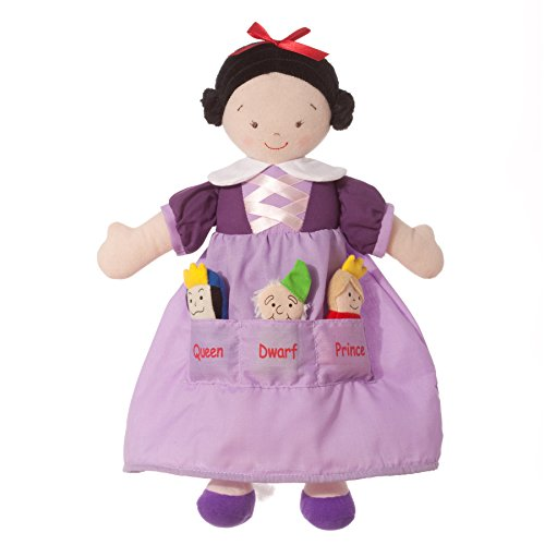 North American Bear Dolly Pockets Snow White