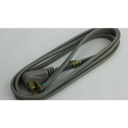 Master Electrician 09726Me 6-Feet Power Supply Replacement Cord, Gray