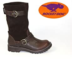Rocket Dog Crayon Slouch Biker Boot