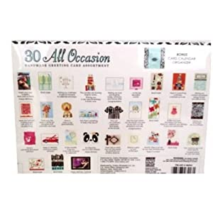 30 All Occasion Handmade Greeting Card Assortment