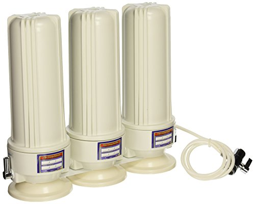 CRYSTAL QUEST Countertop Replaceable Triple Nitrate Water Filter System (Nitrate Water Filter compare prices)