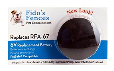 PetSafe Compatible RFA-67 Replacement Batteries (Pack of 10)