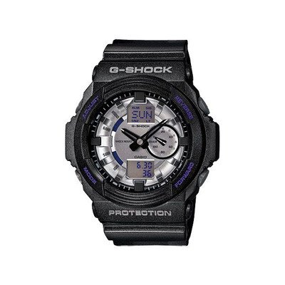 Gee and shock G-shock Casio G shock metallic dial an analog-digital GA150MF-8A silver gray × black [parallel import goods]