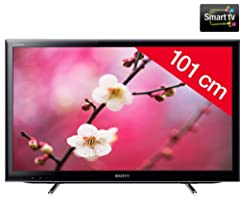 Sony KDL-40EX650 102 cm (40 Zoll) LED-Backlight-Fernseher, Energieeffizienzklasse A (Full HD, HDMI, Motionflow XR 100Hz, DVB-T/C, Internet TV) schwarz ab 599,- Euro inkl. Versand