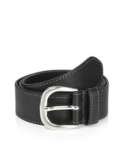 ISACO Cintura Pelle  [Nero]