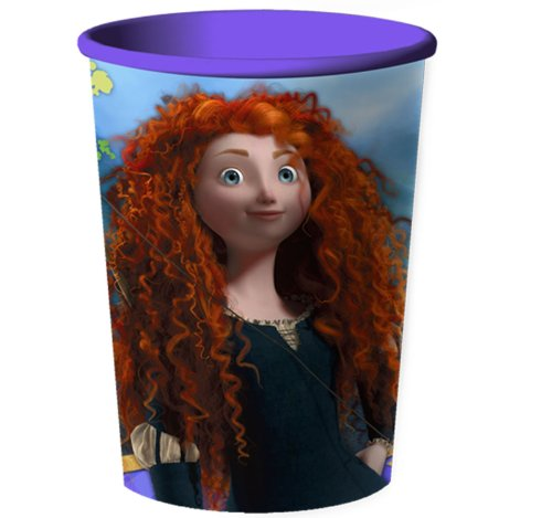 Disney Brave 16 Oz. Plastic Cup By Hallmark
