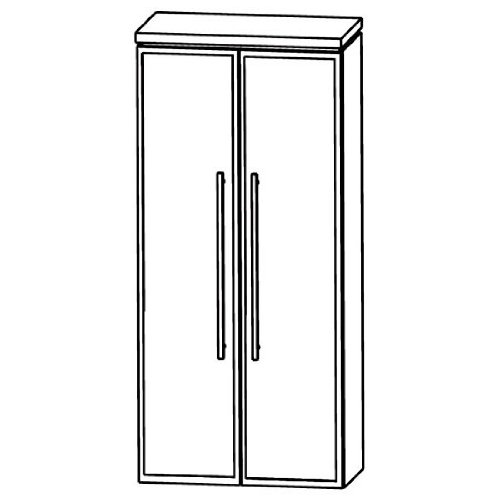 Puris Cool Line Tool Cabinet Bathroom Furniture (Mna816b5), 60 cm
