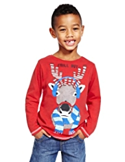 Pure Cotton Reindeer T-Shirt