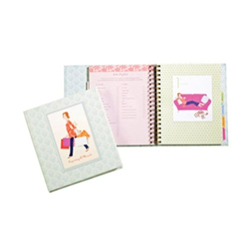 Cr Gibson Expecting A Miracle Pregnancy Planner, Journal And Keepsake Book,