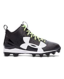 Under Armour Men\'s UA Crusher RM Football Cleats 9.5 Black