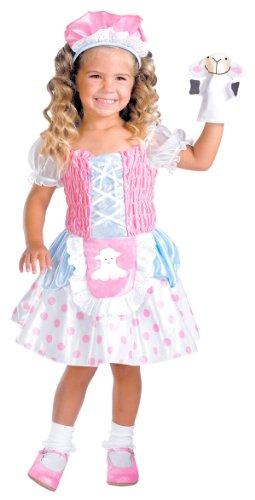 Little Bo Peep Infant Toddler Costume (2T) (Toddler Bo Peep Costume)