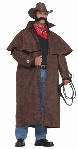 Forum Novelties Men's Plus-Size Extra Big Fun Tex Costume Duster Coat