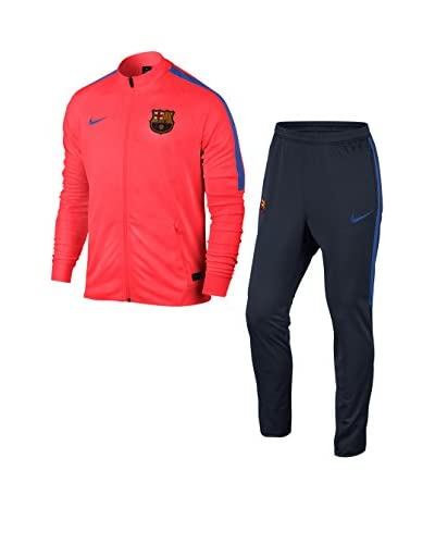 Nike Chándal Fcb M Nk Dry Sqd Trk Suit K Rojo Oscuro / Antracita