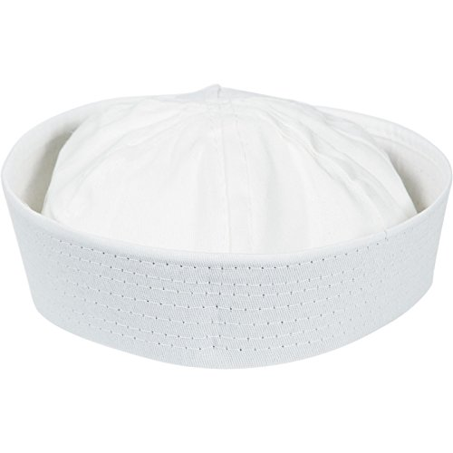 White Sailor Hats 1 ct - 1