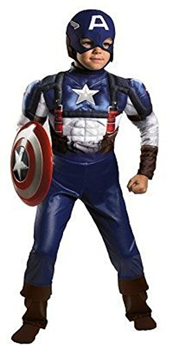 [Captain America Winter Soldier Boys Costume With 3-D Communicator Size (6)] (Captain America Boys Costumes)
