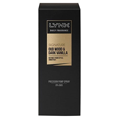 Lynx - Profumo, fragranza e vaniglia scura, 100 ml (Confezione da 6)