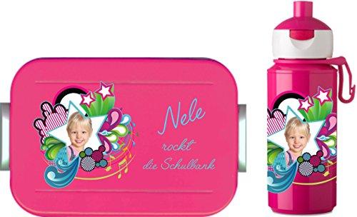 Lunch box schulanfangset :  campus-gourde maxi pop up boîte rosti mepal école motif 8)