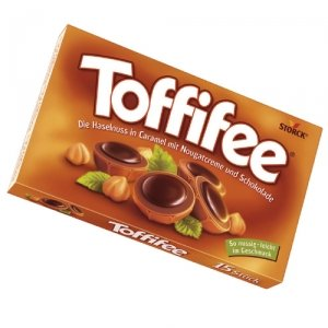 Toffifee Whole Hazelnut in Nougat Cream Filled Caramell ( 125 G / 15 Pcs )