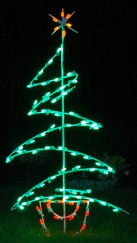 Zig Zag Tree LED Light