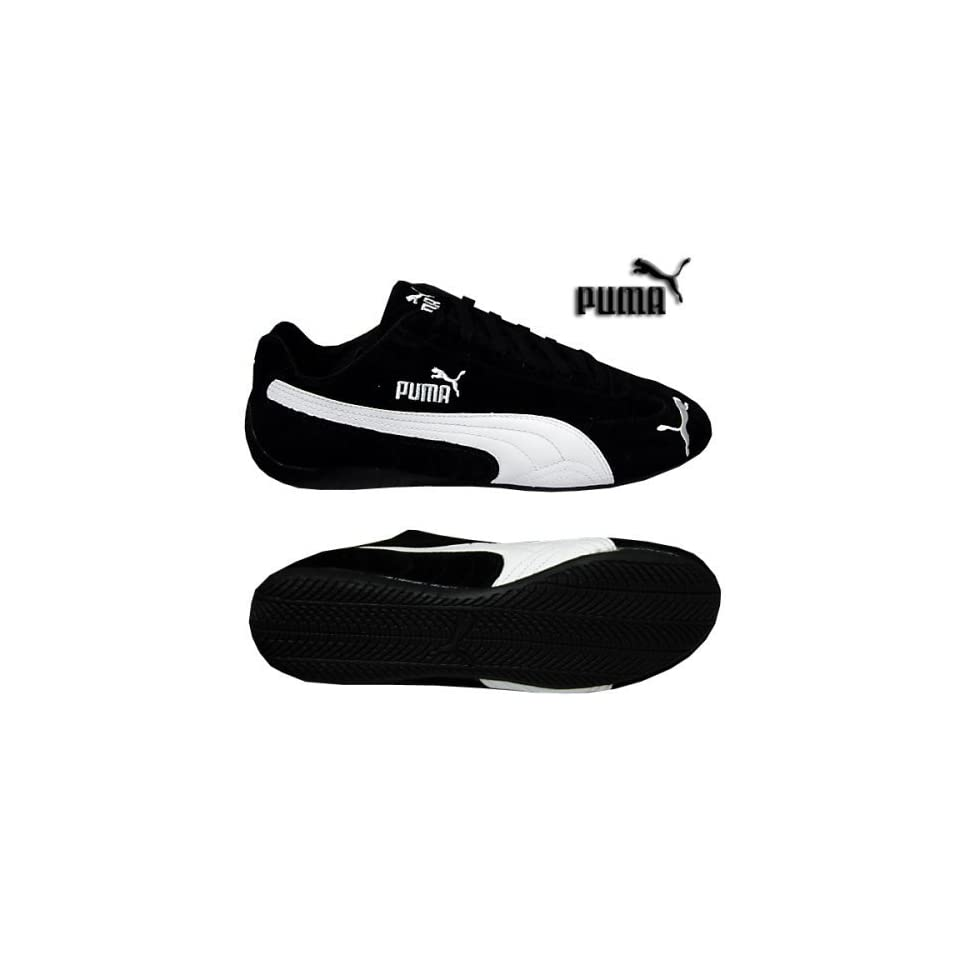PUMA SPEED CAT SPEEDCAT SUEDE BLACKWHITE SNEAKERS SHOES