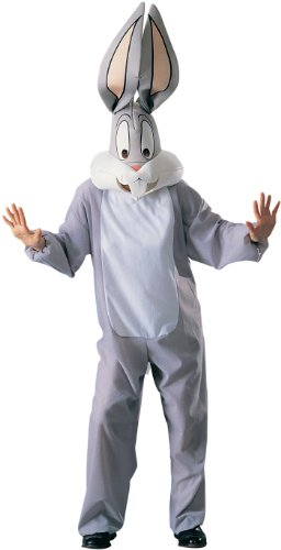 Lets Party Looney Tunes - Bugs Bunny Adult Costume - One Size (Standard)