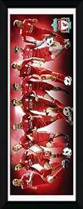 Gb Eye Framed Photograph Liverpool Players 201011 30 X 12-inch by GB eye Ltd