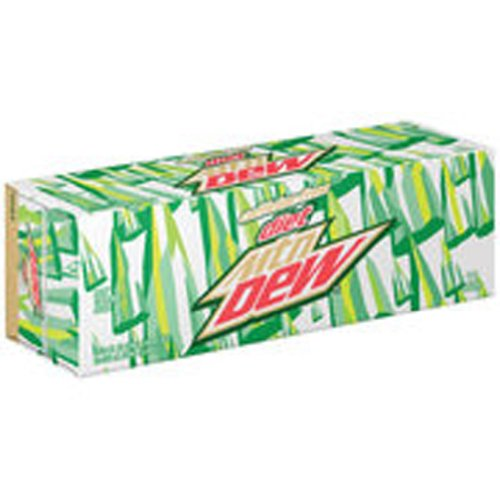 Mountain Dew Caffeine-Free DIET Soda, 12-oz can (Pack of 12)