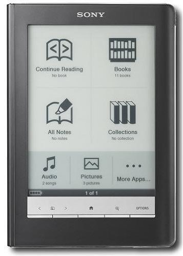 Sony PRS-600BC Touch Edition E-Book Reader
